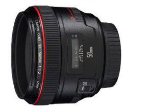 Canon 50mm f1.2L Lens