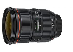 Canon EF 24-70mm f2.8L Lens