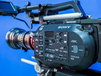 sony 4k XD camera